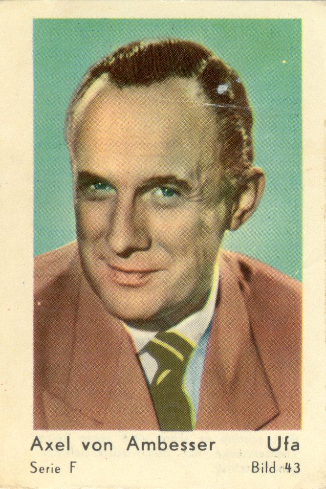 Axel Von Ambesser