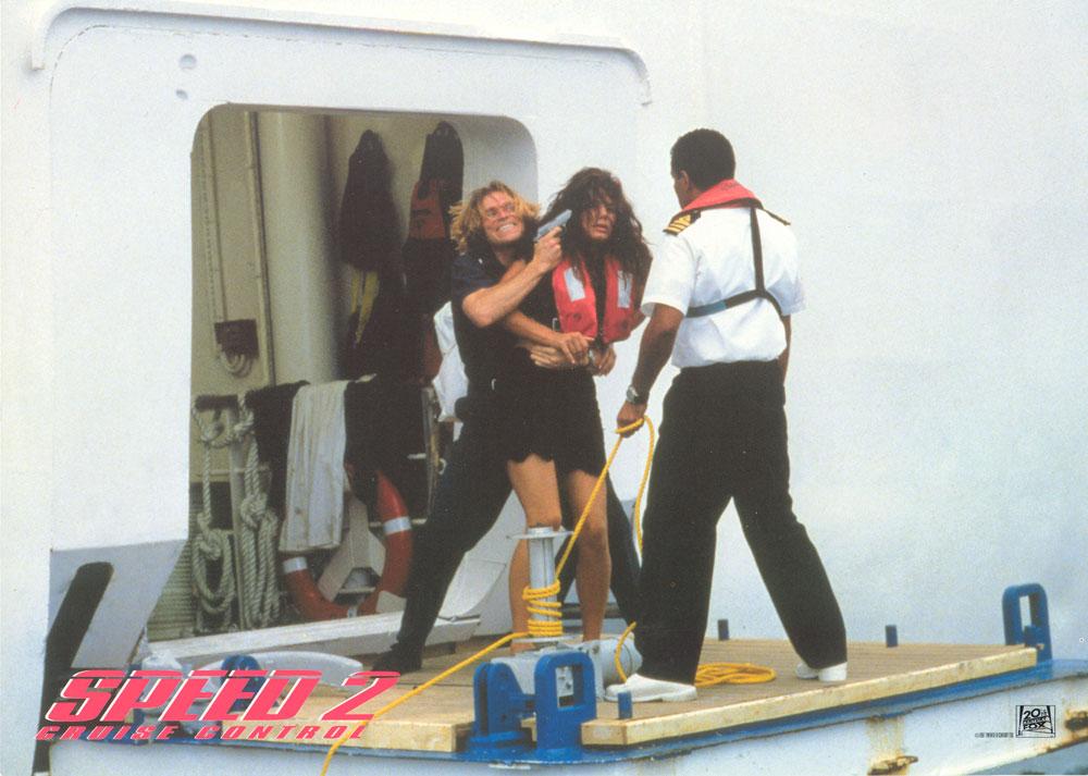 Sandra Bullock, Willem Dafoe - Speed 2