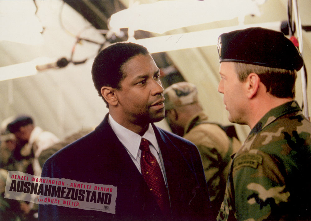 Denzel Washington, Bruce Willis - The Siege