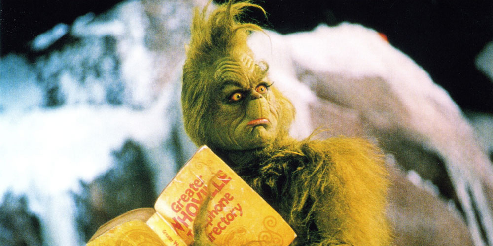 The Grinch Who Stole Christmas Jim Carrey - Christmas Cards