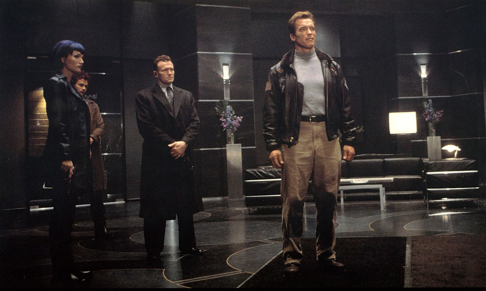 Sarah Wynter Michael Rooker Arnold Schwarzenegger The Th Day