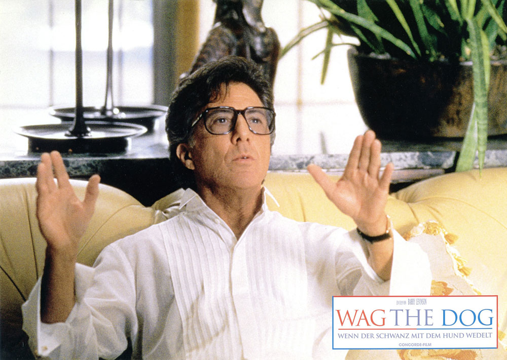 wag the dog movie essay Feature article on wag the dog (full marks) feature article on wag the dog (full marks) essay sample  feature article on wag the dog (full marks) essay sample those in power own the truth  the movie twelve angry men is the ultimate example of a group of people forced to interact in order to reach a single, defined goal.