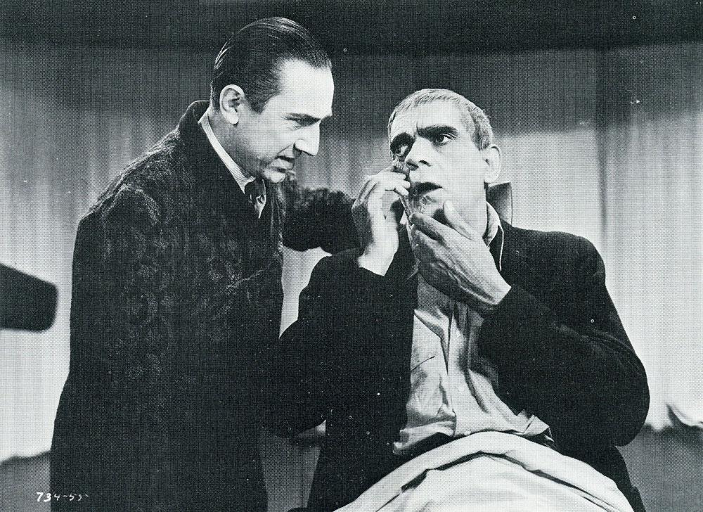 The Raven (1935) - Moria  |Boris Karloff Bela Lugosi
