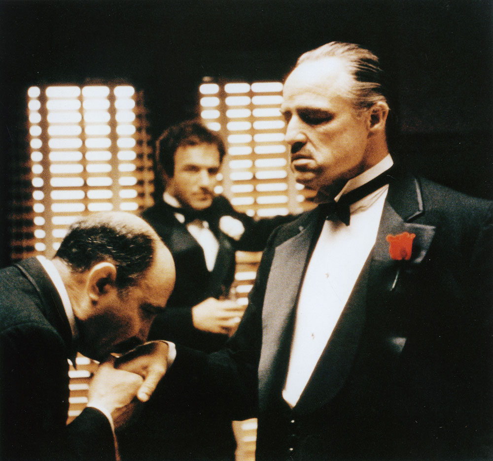An overview of the conflict in the movie the godfather