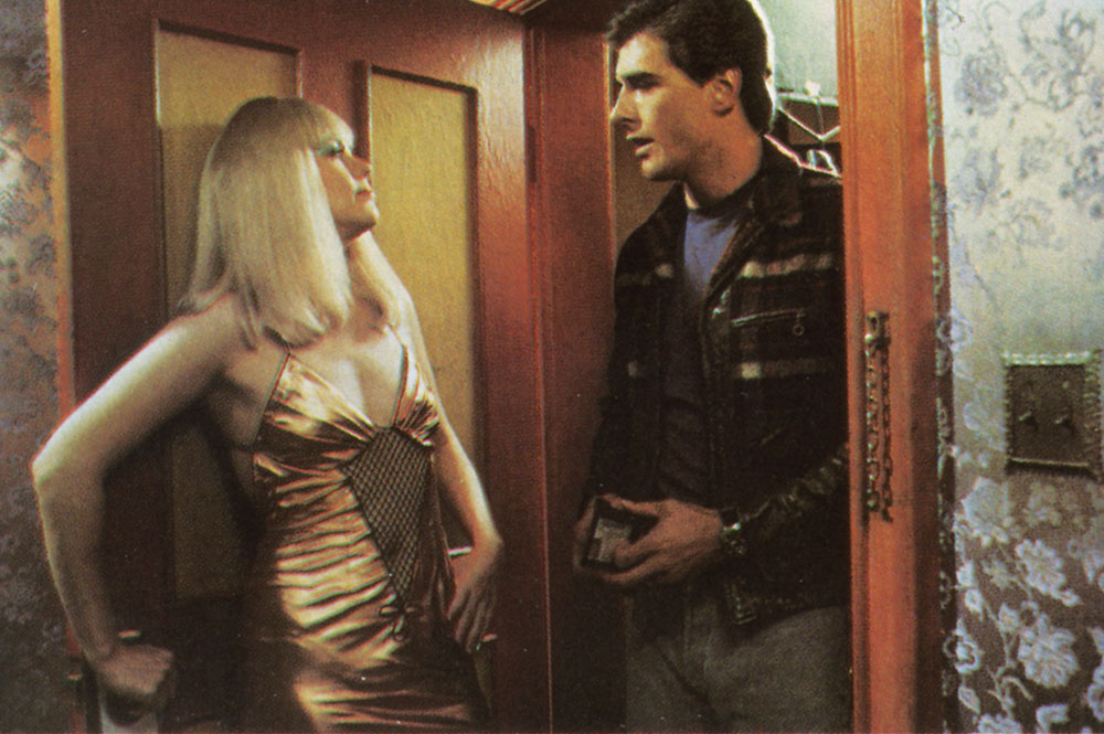 crime of passion Fashion designer joanna crane (kathleen turner) leads a double life by night she is china blue, a prostitute who's attracted the unwanted attention of two men.