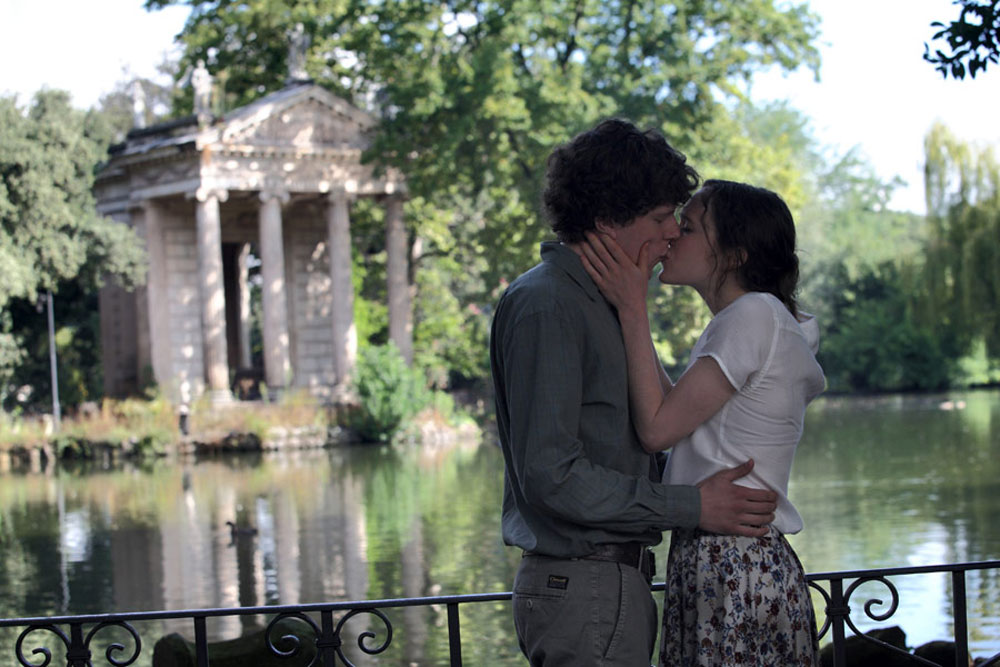 Ellen page and jesse eisenberg dating
